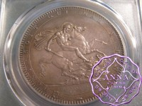 Great Britain 1819 George III Crown PCGS MS63