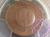 France 1814 First Restoration Bronze Essai 2 France PCGS SP64BN