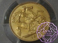 Great Britain 1902 Edward VII Matte Proof Gold Half Sovereign PCGS PR63