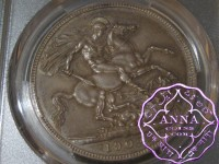 Great Britain 1902 Edward VII Matte Proof Crown PCGS PR63