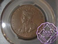 Australia 1936 Penny PCGS AU58