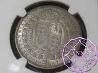 Great Britain 1887 Victoria Half Crown NGC MS63
