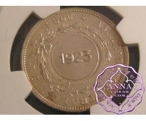 Costa Rica 1923/1903 Counterstamp 50 Centimos NGC MS64