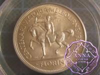 Australia 1934-35 Centenary Florin PCGS MS65