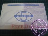 1995 AA$5 Fraser/Evans NPA Deluxe Folder