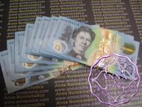 Australia $10 2017 First Prefix AA17 Lowe/Fraser AA$10 UNC
