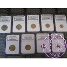 Russia 1961 USSR 9-Piece Lot of Certified Uniface Die Trials Brilliant Uncirculated NGC