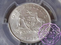Australia 1936 Shilling PCGS MS64