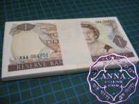 New Zealand 1981 AAA First Prefix Bundle of 100