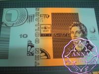 1991 Mc $10 U9 Fraser/Cole Uncut of 4