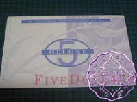 1994 AA$5 Fraser/Evans NPA Deluxe Folder