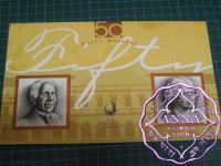 1995 $50 AA95 & FAB NPA Two Banknotes Folder
