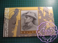 1993 $10  First & Last NPA Two Banknotes Folder