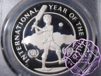 Jamaica 1979 Silver Proof $10 PCGS PR69DCAM Deep Ultra Cameo
