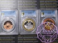 Australia 1999-01 Millennium Silver Proof Set PCGS 70DCAM