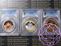 Australia 1999-01 Millennium Silver Proof Set PCGS 69-70DCAM