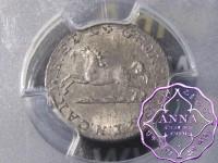 German 1823 CvC Brunswick Wolfenbuttel 4 Pfennig PCGS MS65