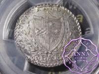 Switzerland 1826 Aargau Canton 5 Batzen PCGS MS 63
