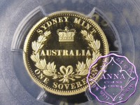Australia 2005 Sydney Mint Gold Proof Sovereign PCGS PR69DCAM