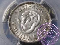 Australia 1938 Shilling PCGS MS63
