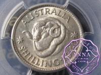 Australia 1940 Shilling PCGS MS61
