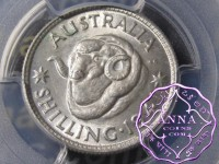 Australia 1941 Shilling PCGS MS64