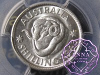 Australia 1943 S Shilling PCGS MS63