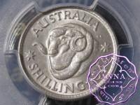 Australia 1944 Shilling PCGS MS63