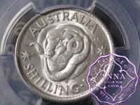 Australia 1944 S Shilling PCGS MS62