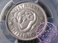 Australia 1950 Shilling PCGS MS63