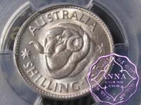 Australia 1953 Shilling PCGS MS63