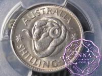 Australia 1953 Shilling PCGS MS64