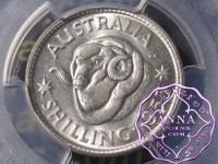Australia 1953 Shilling PCGS MS65