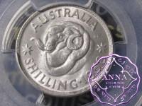 Australia 1958 Shilling PCGS MS64