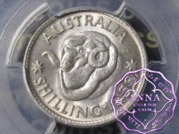 Australia 1958 Shilling PCGS MS65