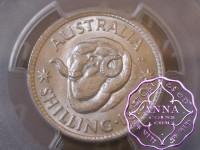 Australia 1952 Shilling PCGS MS62