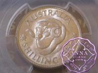 Australia 1952 Shilling PCGS MS63