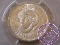 Australia 1952 Shilling PCGS MS63+