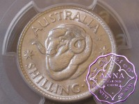 Australia 1952 Shilling PCGS MS65