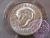 Australia 1952 Shilling PCGS MS66