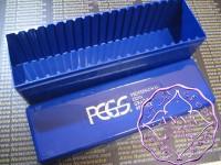 PCGS Blue Slab Coins Storage Plastic Box used X 1