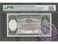 1933 R28 One Pound Riddle/Sheehan PMG55