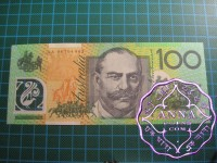 1998 $100 AA98 First prefix UNC
