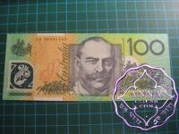1999 $100 JK99 Last Prefix UNC