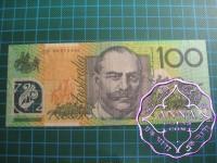 1998 $100 CF98  Last Prefix used