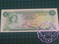 Bahamas 1965 $1  Pick 18a UNC