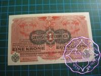 Austria 1916 Krone Pick#20 aUNC