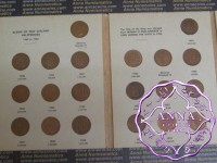 NZ Halfpenny,Penny,3d,6d,Silling,Florin,Half Crown Date Set in Album, Total 201 Coins