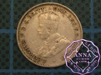 Australia George V 92.5 Silver Threepence Average Circulated Condition