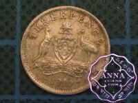 Australia 1910 Threepence